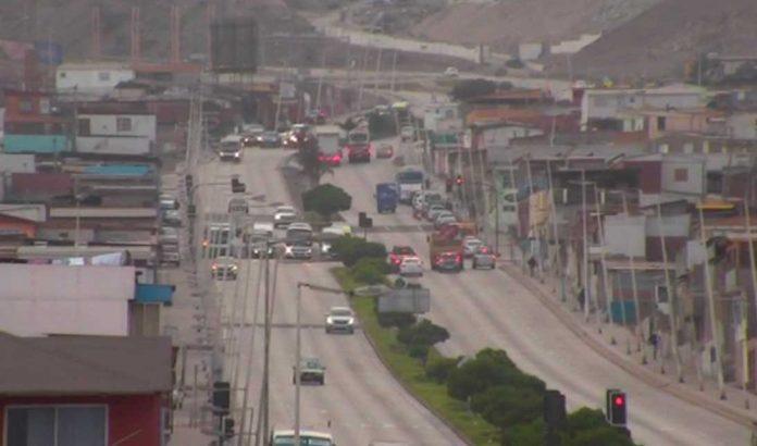 Avenida Salvador Allende de Antofagasta | Foto: Transporte Informa