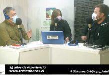 Programa Chileanway de Radio Madero | Carlos Rivera, Patricia Palma y Jorge Ortiz
