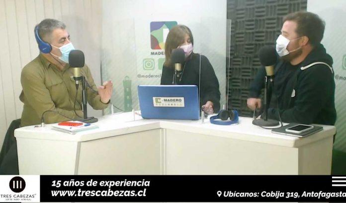 Programa Chileanway de Radio Madero   Carlos Rivera, Patricia Palma y Jorge Ortiz