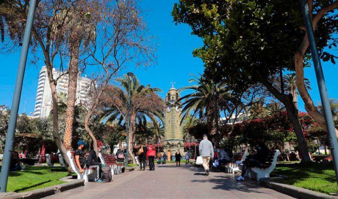 Plaza Colón de Antofagasta   Foto: Prensa I.M.A.