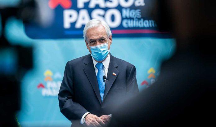 Presidente Sebastián Piñera   Foto: Prensa Presidencia