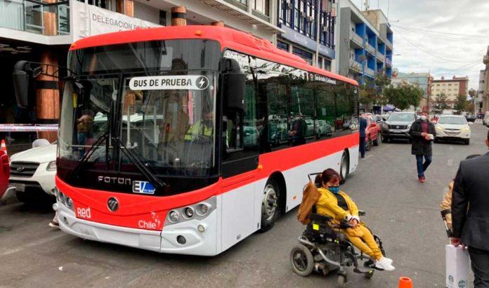 Buses eléctricos Antofagasta | Foto: MTT