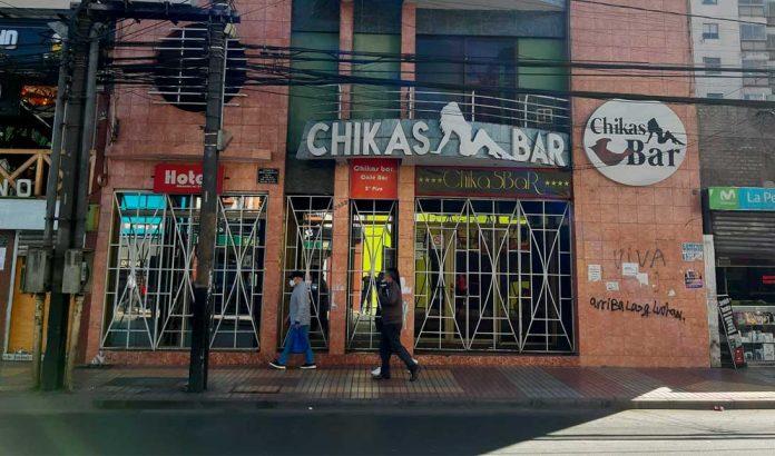 Chikas Bar   Foto: Prensa Seremi de Salud Antofagasta