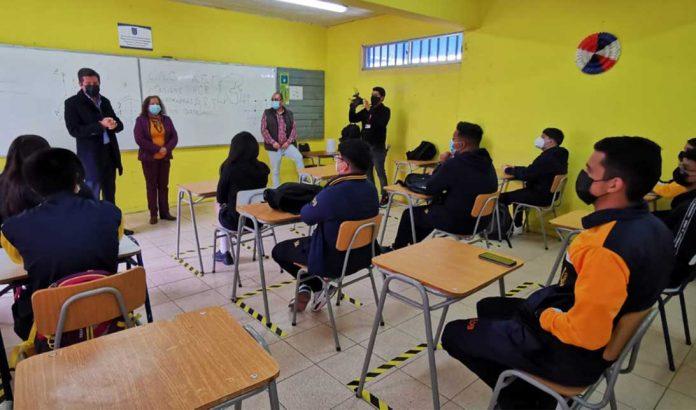 Liceo Domingo Herrera de Antofagasta   Foto: Prensa I.M.A.