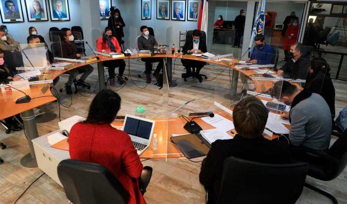 IMAGEN DE ARCHIVO   Concejo Municipal de Antofagasta   Foto: Prensa I.M.A.