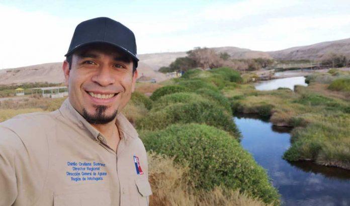 Danilo Orellana, director regional de la Dirección General de Aguas | Foto: IG @danilo_orellana_dga