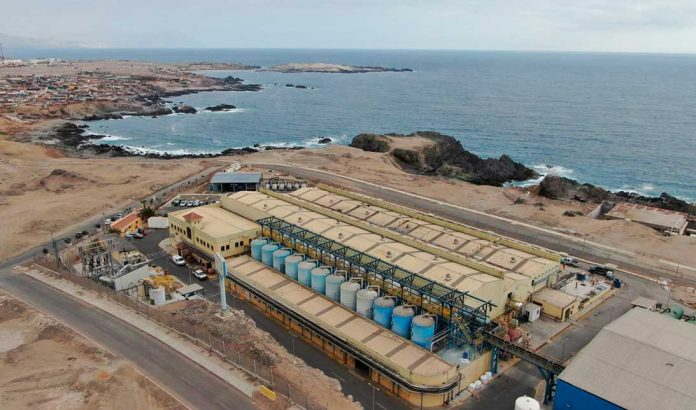 Planta desaladora de Antofagasta | Foto: Prensa Aguas Antofagasta