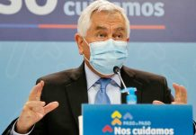 Ministro de Salud Enrique Paris | Foto: Prensa Minsal
