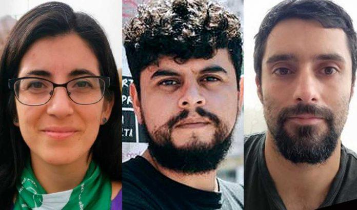 Galia Aguilera | Lester Calderón | Domingo Lara