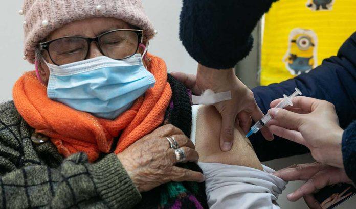 Vacunación Covid   Foto: Minsal