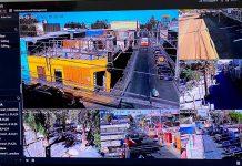 Sala de monitoreo de cámaras de seguridad de Calama   Foto: Prensa I.M.C.