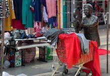 Ambulantes en el centro de Antofagasta | Foto: Timeline.cl
