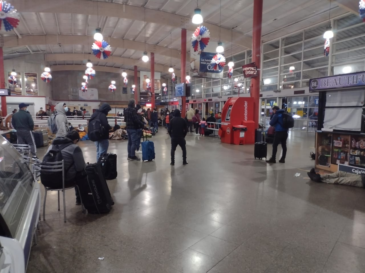 Terminal de buses de Antofagasta | Foto: Daniel Rojas Díaz