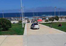 Playa Trocadero de Antofagasta | Foto: FB Jonathan Velásquez