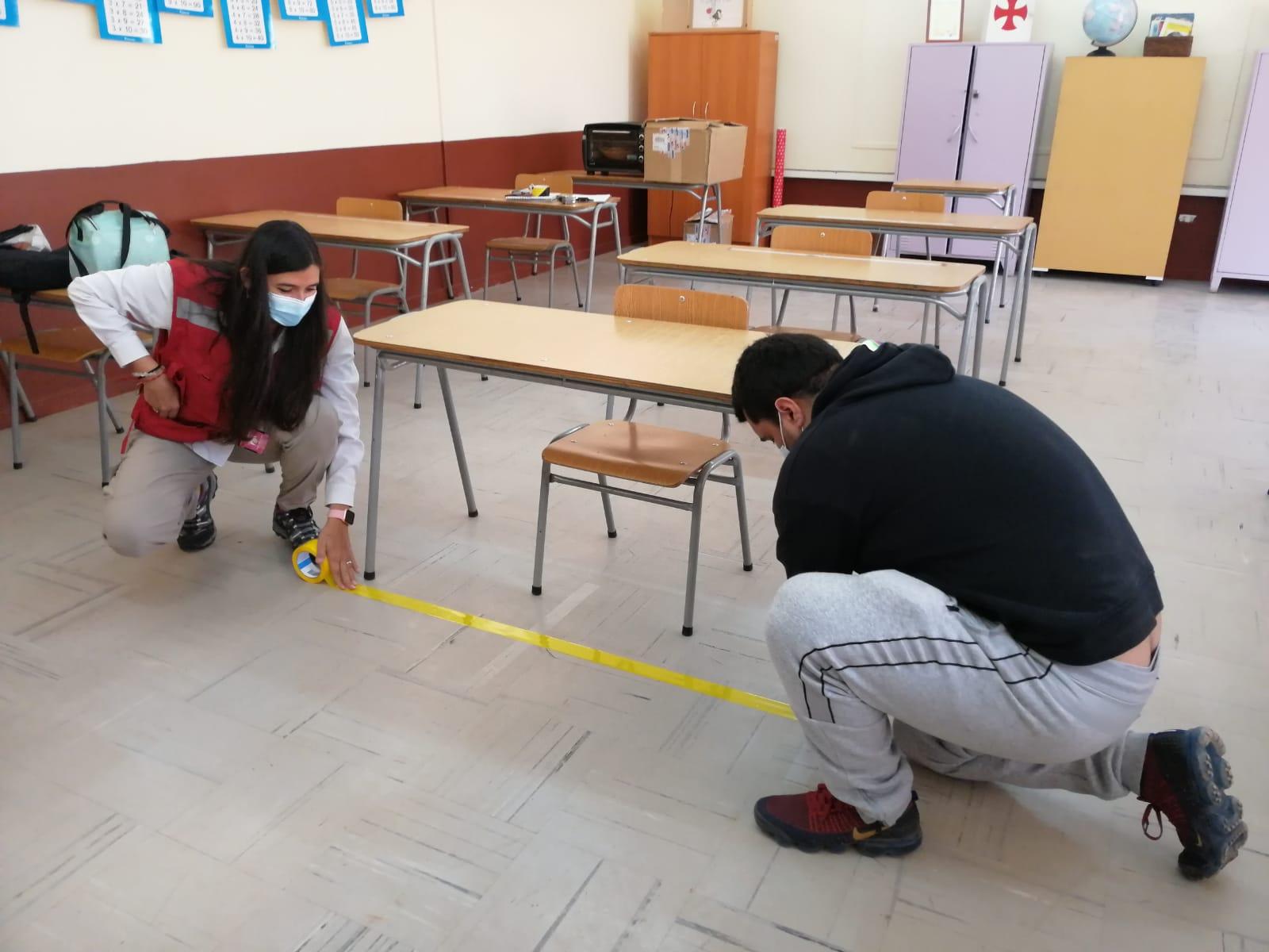 Preparación vuelta a clases | Foto: Prensa CMDS