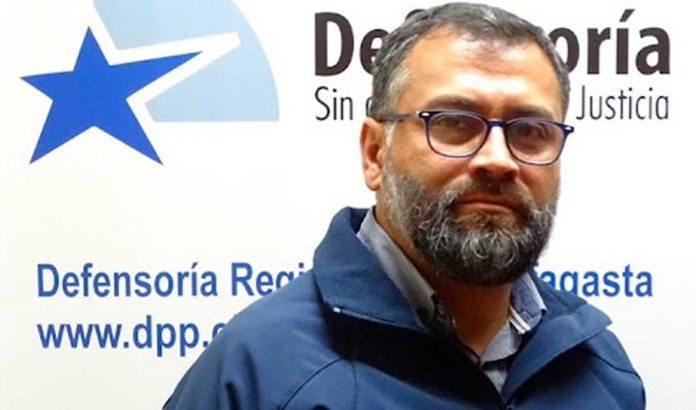 Ignacio Barrientos, Defensor Regional de Antofagasta   Foto: Prensa DPP