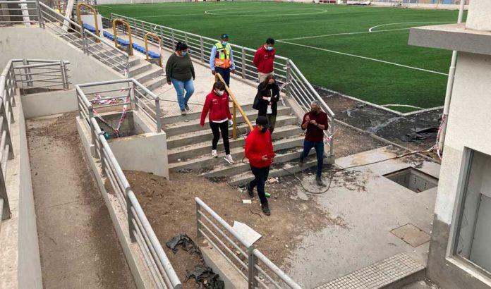 Complejo Deportivo Escolar Corvallis de Antofagasta | Foto: Prensa MOP Antofagasta